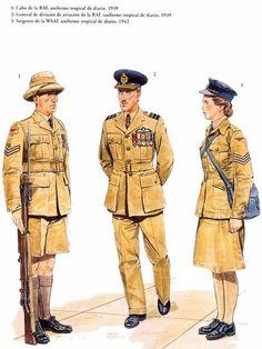 Uniform Insignia, Military Insignia, Military Art, Military History, British Army Uniform, British Uniforms, British Soldier, Air Force Uniforms, Ww2 Uniforms