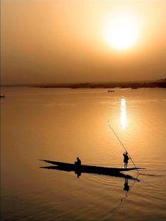 Mopti, Mali, Africa