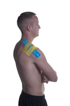 KT Tape Rotator Cuff application