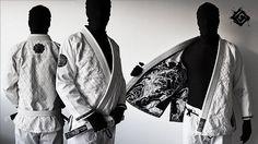 Peel Gi 柔術衣 BLACK WAVE 白 - ファイターズショップブルテリア