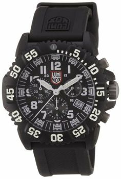 Luminox EVO Navy Seal Colormark Black Dial Mens Watch 3081 Luminox. $293.99. Chronograph Display. Black Rubber Strap. Round Case