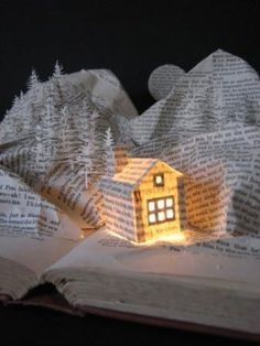 paper #house altered book art | awesome pics