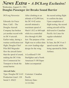 Douglas DC.8/43 speed record