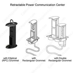 Retractable Data/Power Center