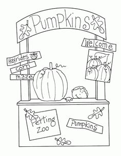 Pumpkins and More Booth
