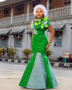 This Green Land Is Blessed This Green Land Will Be Better This Green Land Will Be Healed Happy Independence Day To My Beloved Country Nigeria 🇳🇬 Proudly Naija🙌 Dress Nooni Aso oke Photography MUA The Baddest # Ankara Styles For Women, Kente Styles, Ankara Gown Styles, Latest Ankara Styles, Ankara Dress, Ankara Blouse, Ankara Gowns, African Wear Dresses, Latest African Fashion Dresses