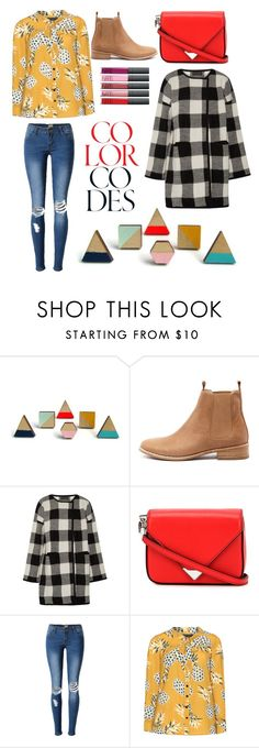 """""""because i can"""" by therearenorules on Polyvore featuring Mollini, Hatch, Alexander Wang, Manon Baptiste, Fall, plaid, becauseican and colourcode"""