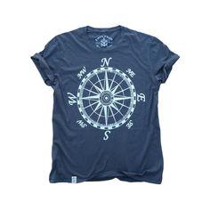 Mariner's Compass: Garment Dyed Fine Jersey Short Sleeve T-Shirt in Asphalt  #look #art #motherearth #vintage #independent #fashionista #bohemianluxe #fairtrade #bohofashion #instafashion