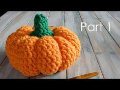 Prt1 How to Crochet a Life-Size Pumpkin - YouTube