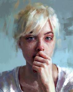 Ivana Besevic. 2010. podemos observar en este retrato algo de tristesa y misterio proviniente de sus ojos.