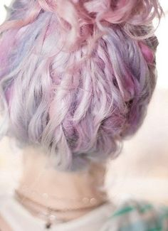 pastel hair. love it