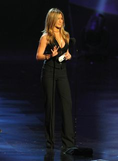 Jennifer Aniston. Love her style. She looks amazing in EVERYTHING!