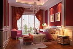 Normally I would never choose these colors for my room, but this is amazing. It is classy, elegant and very romantic <3