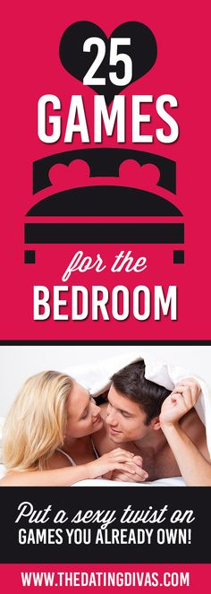 25 SEXY and ROMANTIC Bedroom Games- from cards games to board games to strategy games, there's something for every couple.