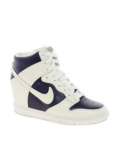 Enlarge Nike Fast Love Sky High Wedge Trainers