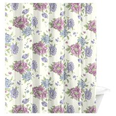 Laura Ashley Home Milner Cotton Shower Curtain Curtains