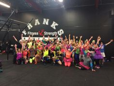 Papanui shuffle - Disco WOD. Now that is how you celebrate the end of #sugarfree July at #franksbrothers #crossfit #newzealand