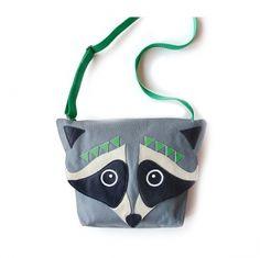 Chindsgitasche Kindergartentasche Racoon Racoon, Jewerly, Baby, Pouch, Stitch, Children, Cute, Crafts, Accessories