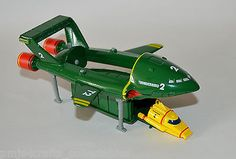 #Corgi - #cc00802 thunderbirds tb2 & tb4 international #rescue die-cast models,  View more on the LINK: http://www.zeppy.io/product/gb/2/191955447898/