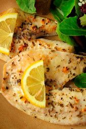 Broiled Tilapia with Garlic & Lemon