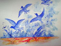 Painting, Watercolor, Painting Art, Paintings, Paint, Draw