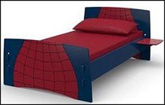 spider man bed for children