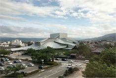 kazuyo sejima, the architect who leads tokyo-based firm SANAA, has completed the tsuruoka city culture hall on japan's northwest coast. Architecture Student, Architecture Design, Grace Farms, Ryue Nishizawa, Building Exterior, Cultural Center, Malaga, Japan, House Styles