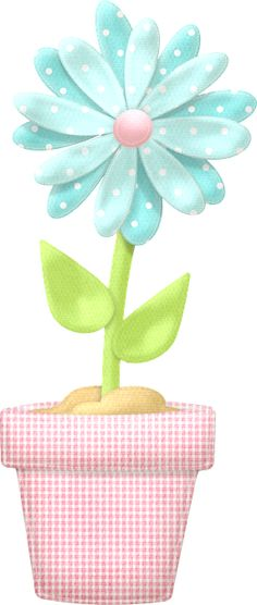 Flowers and Hearts of the Sweet Spring Clip Art. Arts And Crafts, Paper Crafts, Diy Crafts, Cute Clipart, Rock Clipart, Cute Images, Spring Flowers, Flower Art, Coloring Pages