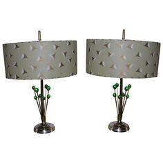 Outstanding Mid Century Atomic Eames Era Lamps