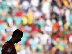 Sport picture of the day: Cristiano Ronaldo in silhouette
