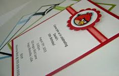 angry birds invitations - Google Search