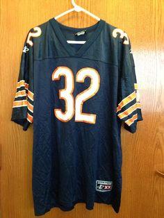 Vintage Edgar Bennett Chicago Bears Blue Authentic Football Jersey Size: XXL