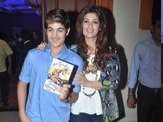 Twinkle Khanna has shared a fun video of her son Aarav. Take a look...