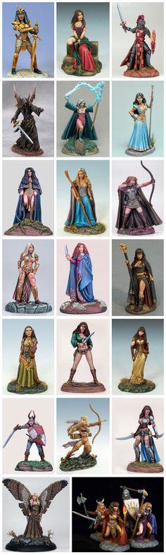 Dark Sword Miniatures GRRM Masterworks Major Line Expansion by Dark Sword Miniatures — Kickstarter