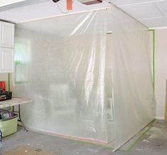 DIY Projects Your Garage Needs -DIY Garage Paint Booth - Do It Yourself Garage Makeover Ideas Include Storage, Organization, Shelves, and Project Plans for Cool New Garage Decor http://diyjoy.com/diy-projects-garage