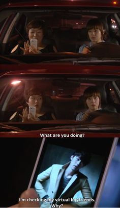 Protect the Boss ♥ I have a whole pinterest page of Virtual Boyfriends! #kdramahumor