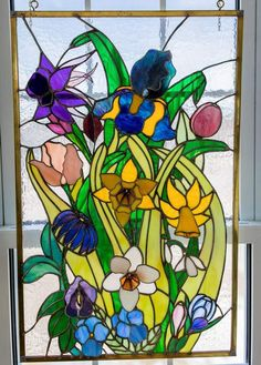 Showcase your art glass projects. Delphi Glass, Artist Gallery, Spring Flowers, Stained Glass, Glass Art, Mosaic, Plants, Projects, 3d