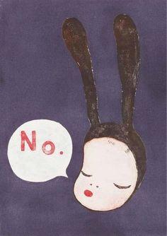 「No.」  どんな意味をもった「いいえ」だと思いますか?