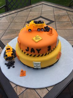 Construction themed birthday cake I was honored to be asked to make.
