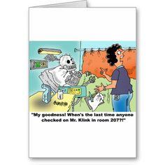 Medical Cartoon Humor Cards http://www.zazzle.com/medical_cartoon_humor_cards-137782653992907547?rf=238588924226571373