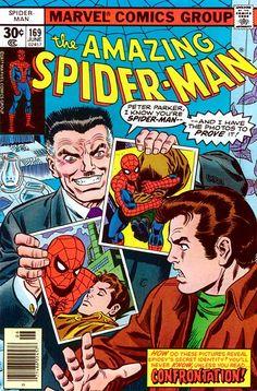 Amazing Spider-Man # 169 by John Romita & Frank Giacoia