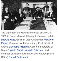 Signing of the Reichskonkordat