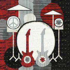 Rock n Roll Drums Art. #music #artwork #musicart www.pinterest.com/TheHitman14/music-art-%2B/