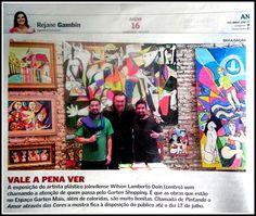 DOIN - ARTISTA PLÁSTICO -http://www.artistadoin.yolasite.com/: WILSON LAMBERTO DOIN NO SHOPPING GARTEN MAIS ATÉ D...