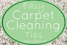 easy carpet cleaning tips, carpets rugs upholstery, cleaning tips