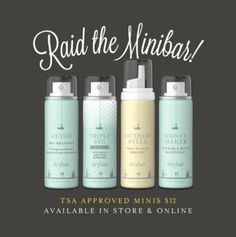 Freelance project with Drybar to introduce their travel size product line on Social Media.