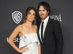 """Surprise! Nikki Reed and Ian Somerhalder are married, according to several new fan photos that have circulated all over the Internet. The couple reportedly said """"I do"""" in Santa Monica, according to reports from the Daily Mail and E!, on Sunday, April 26."""