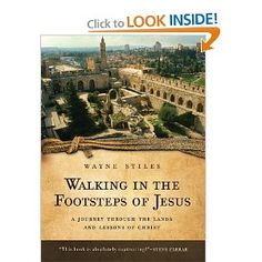 """My second book: """"Walking in the Footsteps of Jesus: A Journey Through the Lands and Lessons of Christ.""""     Through the lens of my experience (often humorous), we walk through the life of Jesus, including the  places He walked in Israel."""