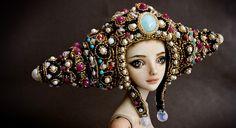 Marina Bychkova é uma artista russa-canadense que cria incríveis bonecas de porcelana. Confira!