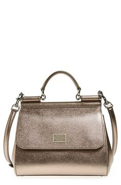 Dolce&Gabbana 'Small Miss Sicily' Satchel available at #Nordstrom